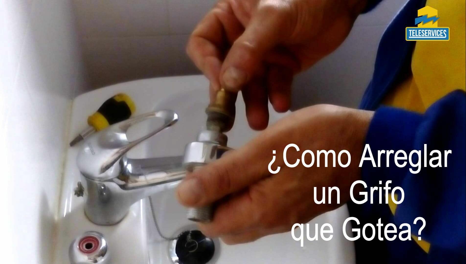 Como arreglar un grifo que gotea rapidamente - Como arreglar un grifo que gotea ...
