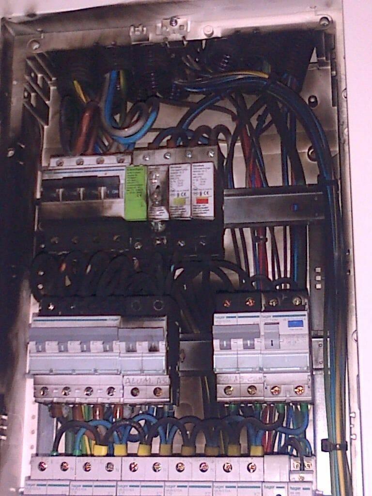 reparar una averia electrica