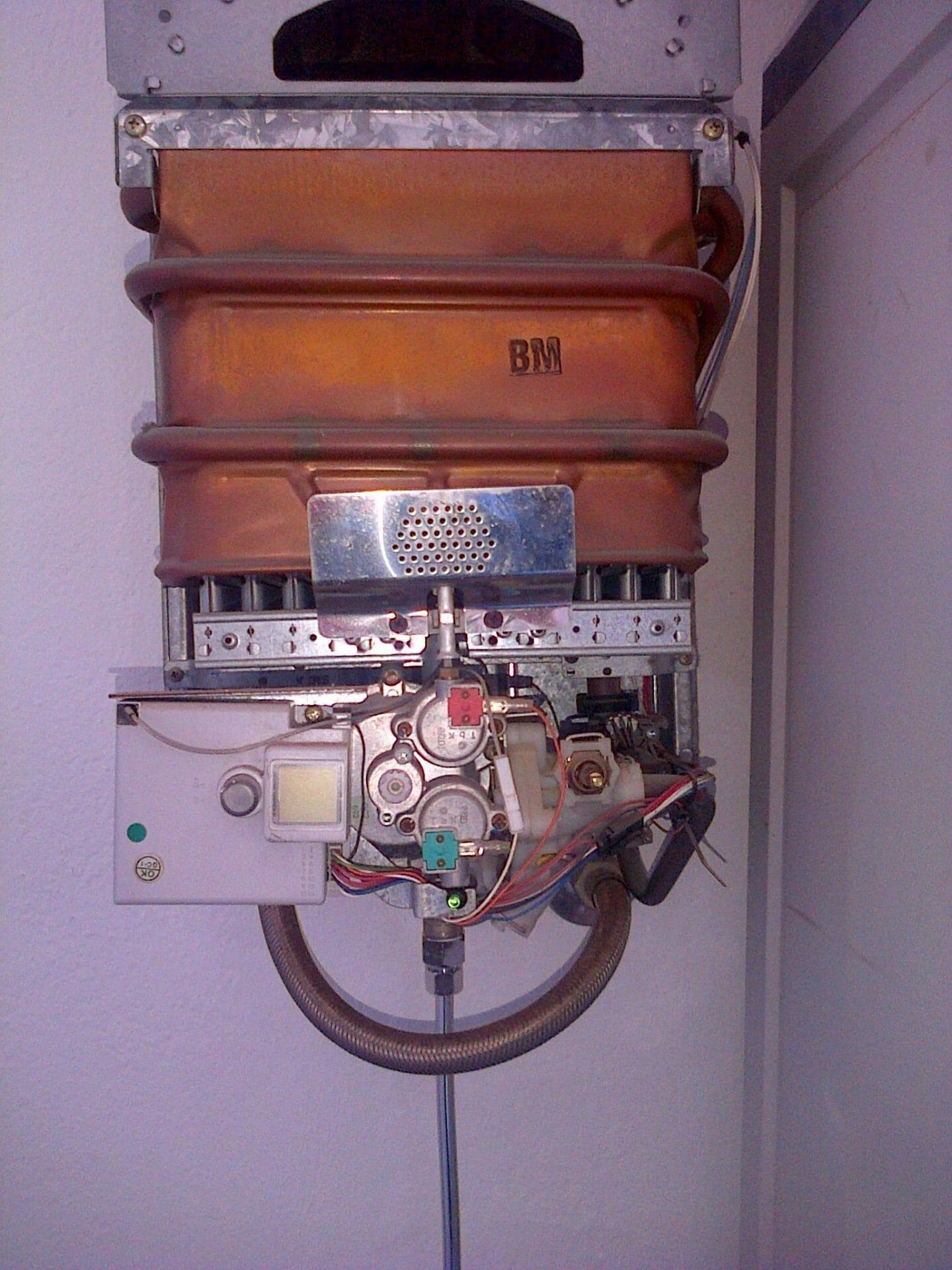 C mo saber por qu no te enciende el calentador for Grifo termostatico no calienta