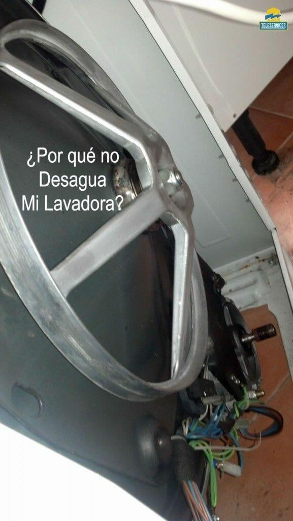 mi lavadora no desagua como reparar el problema