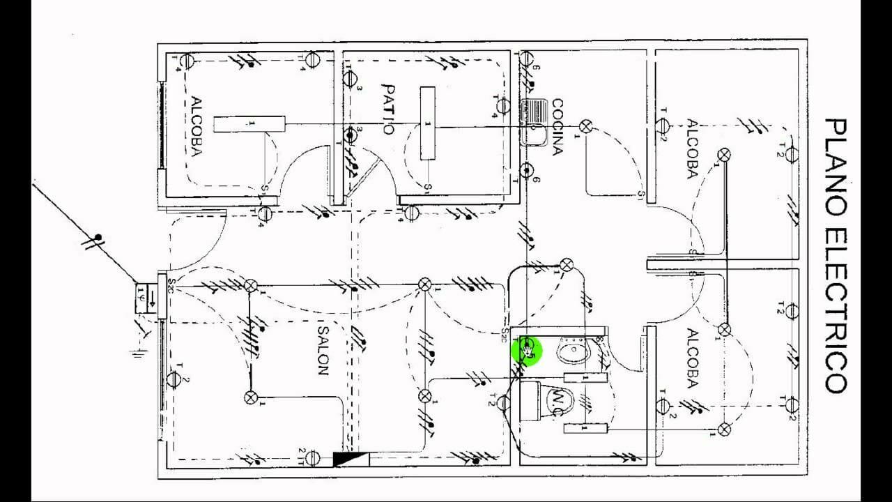 Instalacion electrica en una vivienda pasos para ahorrar for Creador de planos sencillos para viviendas y locales