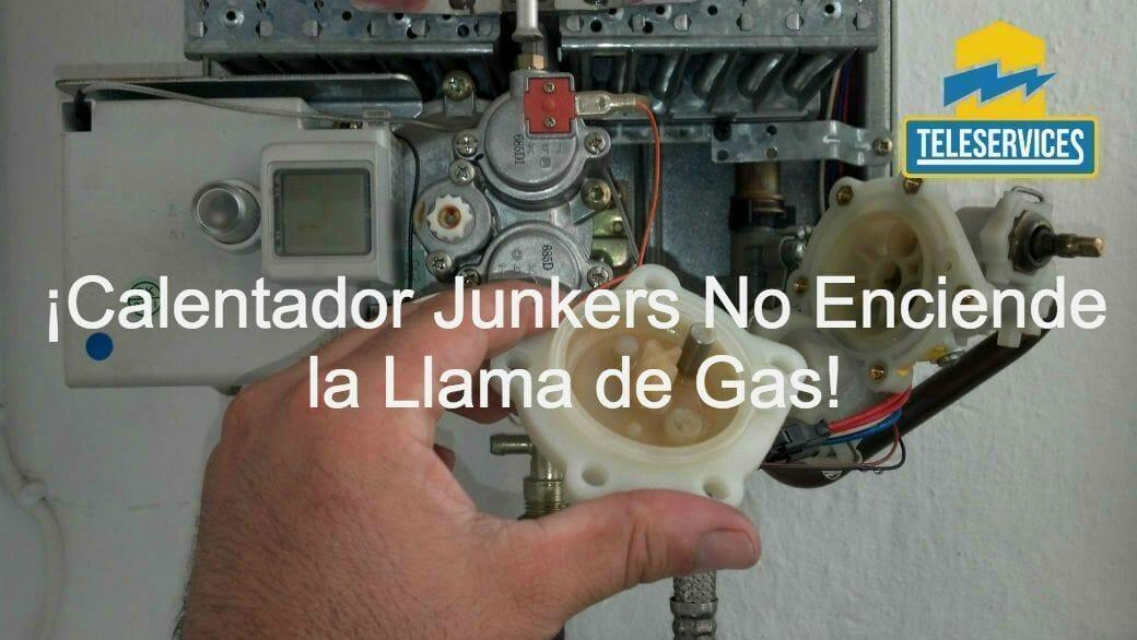 calentador junkers no enciende