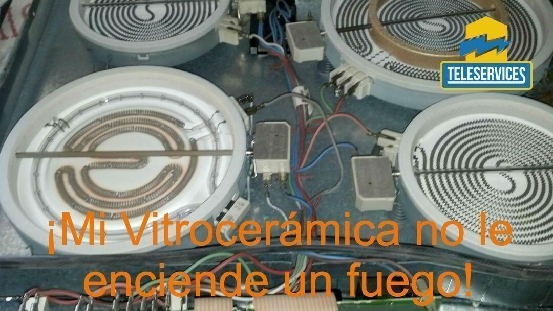 vitroceramica no enciende