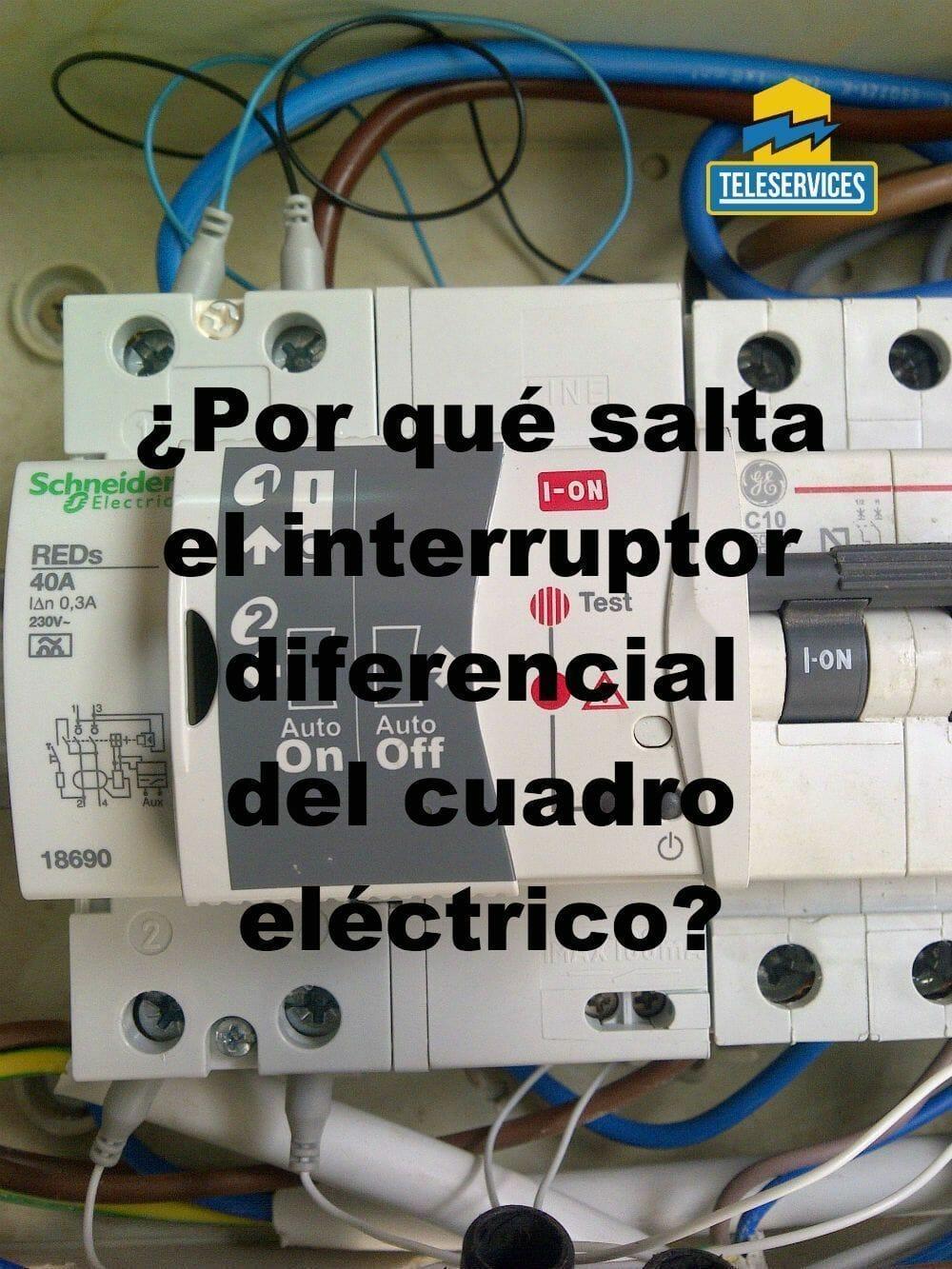 salta el interruptor diferencial