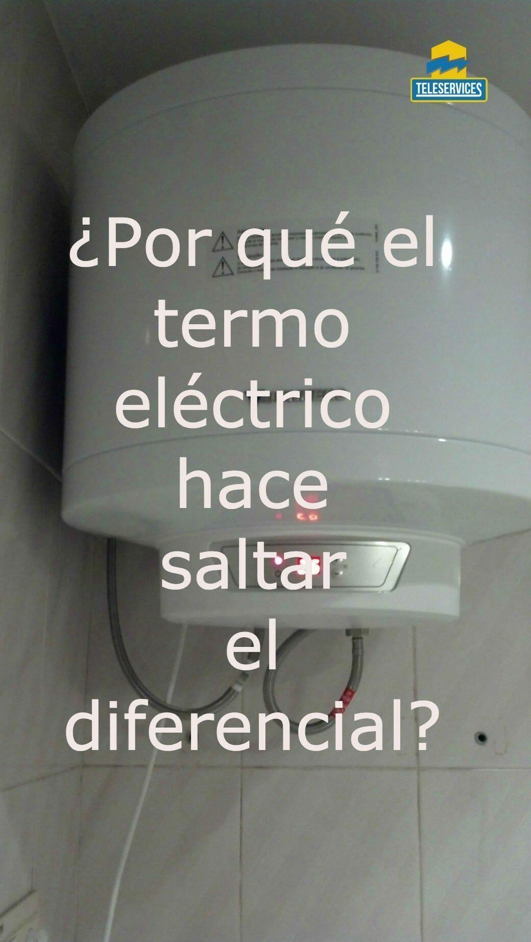 termo eléctrico instantaneo