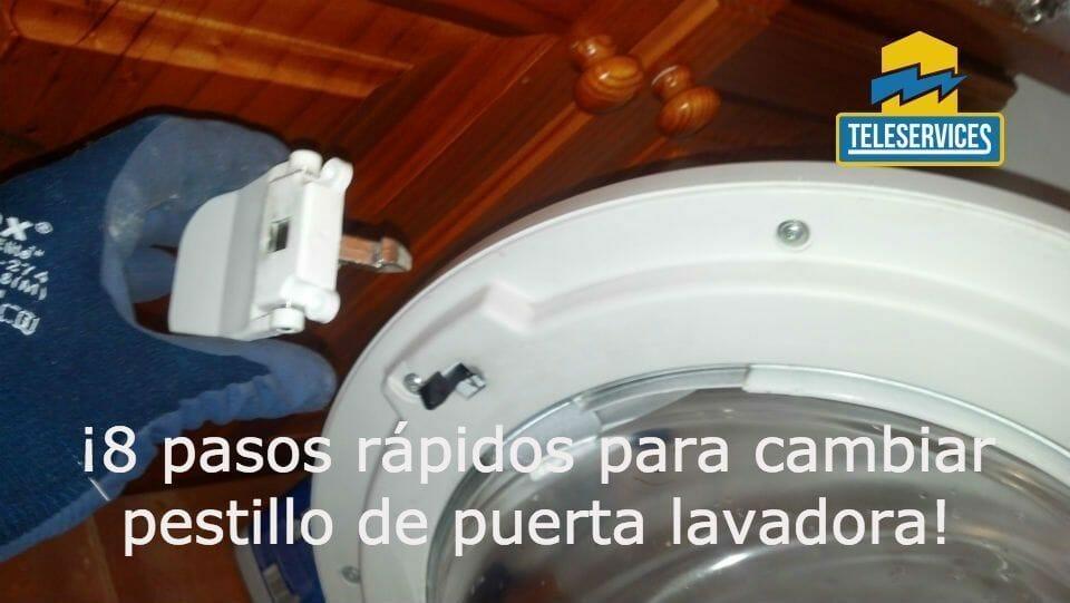 cierre de puerta de la lavadora