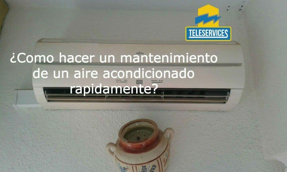 mantenimiento aire acondicionado malaga