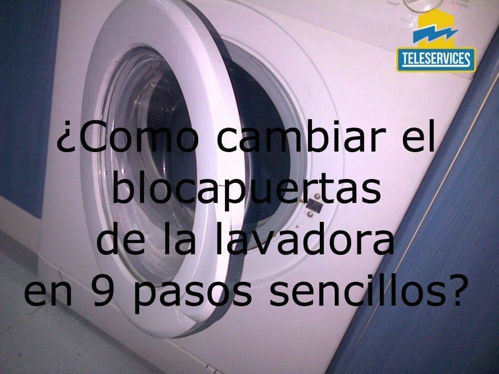blocapuertas de la lavadora