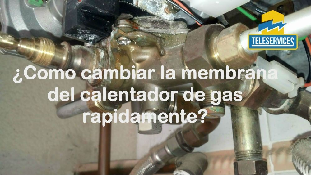 cambiar la membrana del calentador
