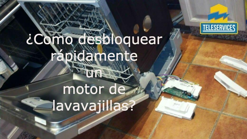 motor del lavavajillas