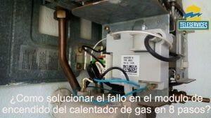 fallo en modulo de encendido del calentador