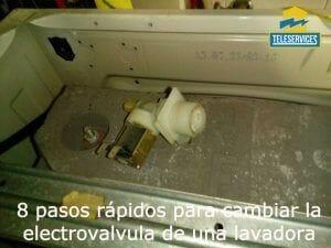 8 pasos rápidos para cambiar la electrovalvula de la lavadora porque no entra agua