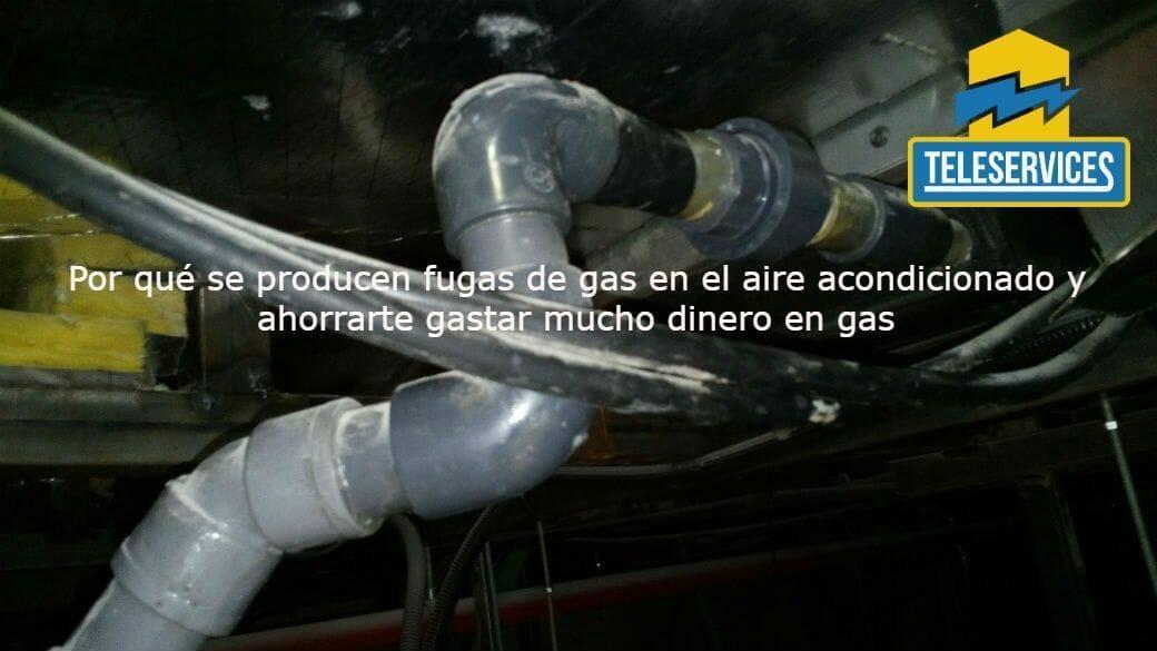 fugas de gas en aire acondicionado