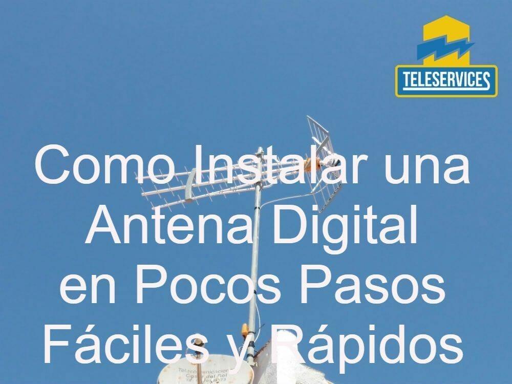 como instalar antena digital