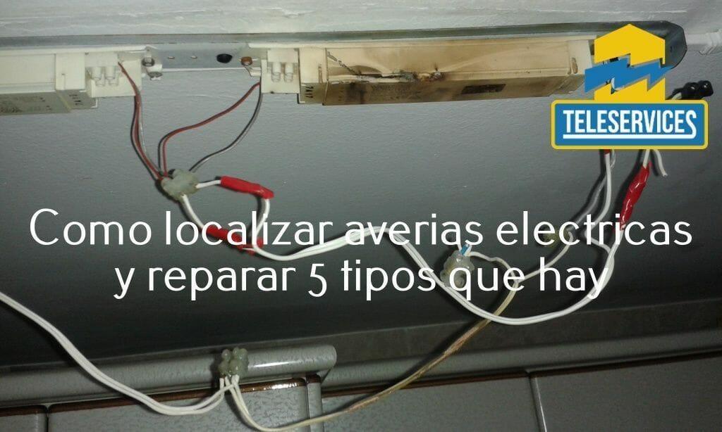 como localizar averias electricas