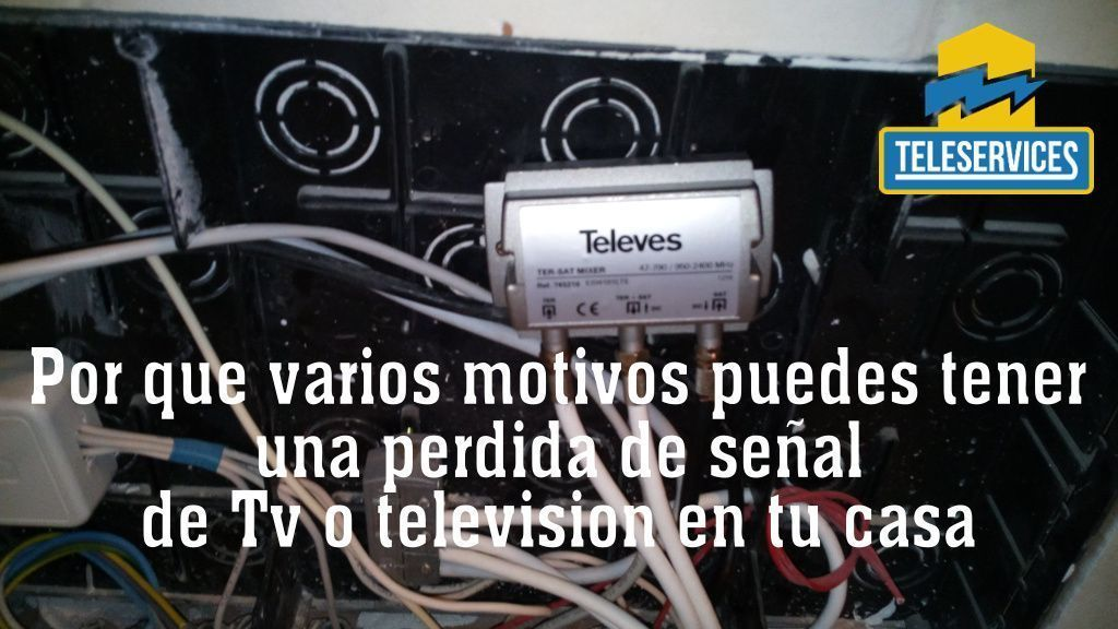 perdida señal tv