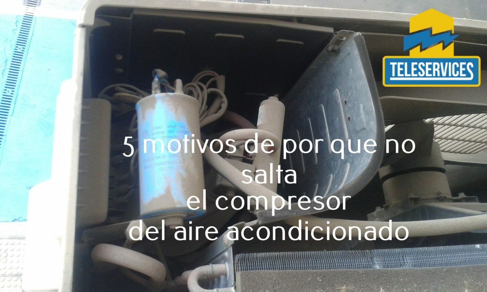 aire acondicionado no salta compresor